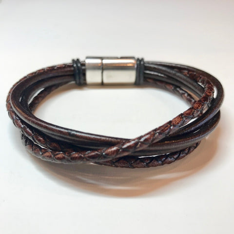 Twisted Leather (Available in Brown and Black)