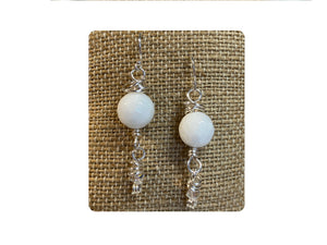 White Party Dangles
