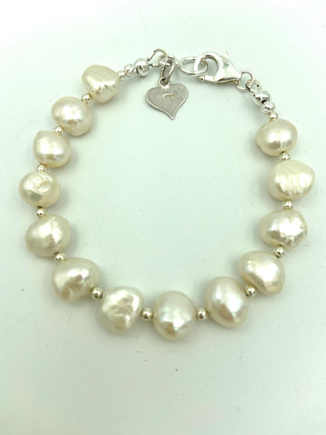 Fresh Water Pearl Wired Bracelet