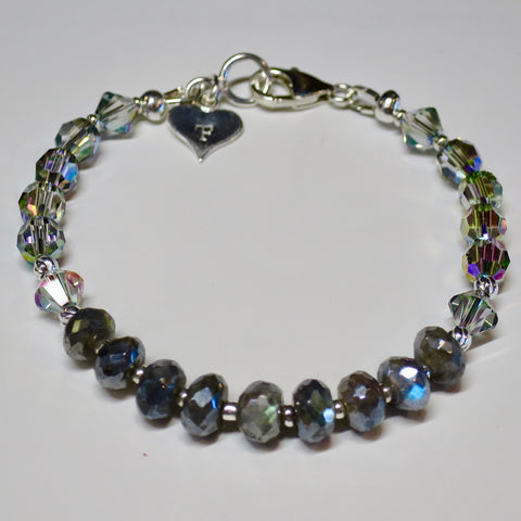 Labradorite Wired Bracelet