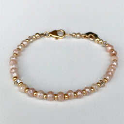Moonstone Wired Bracelet