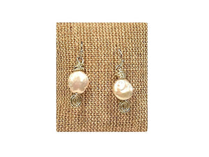 Pearl Earrings (Available in Sterling and Copper)