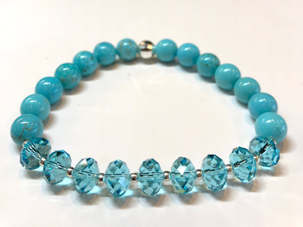 Swarovski Stackers  (Available in 4 Colors / Gemstones)