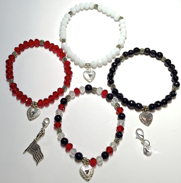 USA Collection Charmed Bracelets