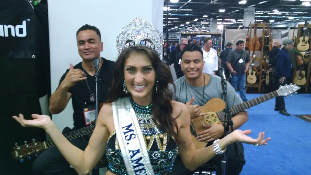 Bo and Nappy Napoleon inspire Ms. America to Dance