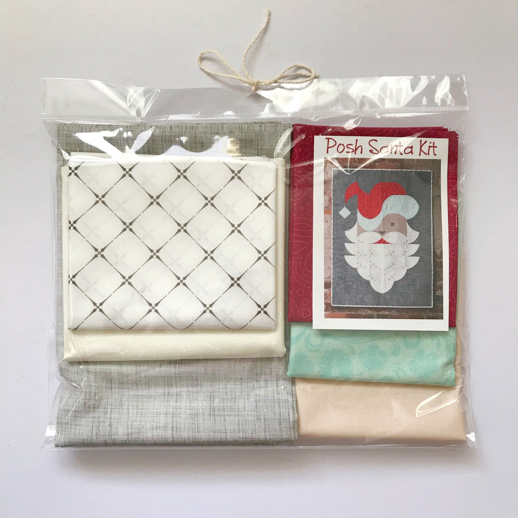 Posh Santa Fabric Kit