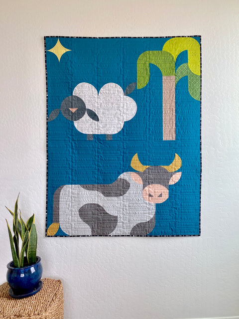 Starry Night Cow Bonus Block