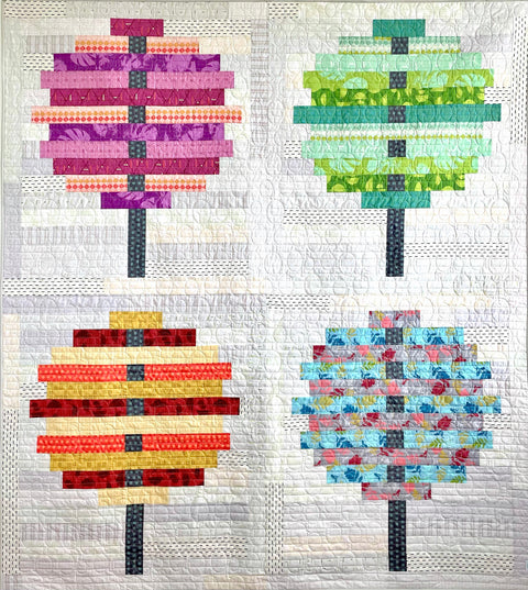 Mod Cloth Fabric Kit for Mod Seasons Quilt