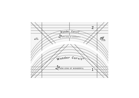 Wonder Curvit Long-arm Ruler Set
