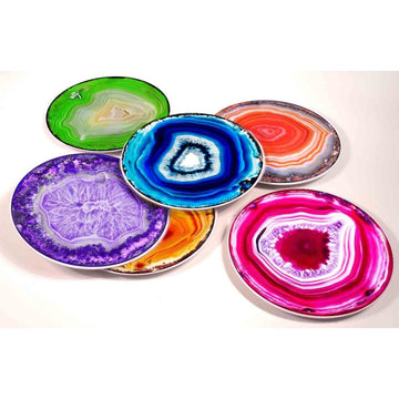 Agate Ceramic Party Plates