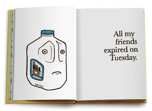 All My Friends Are Dead - Funny Book - Inside Page - Sour Sentiments