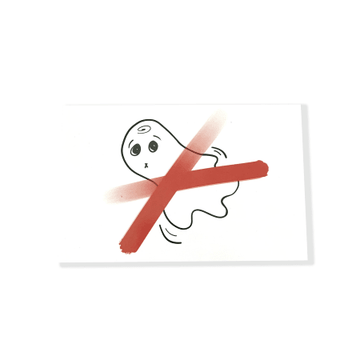 Anti Ghosting Post Card