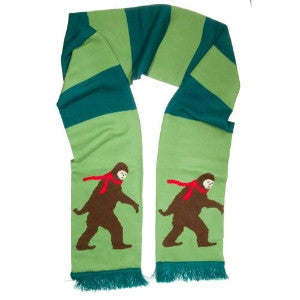 Bigfoot Scarf Fully Displayed