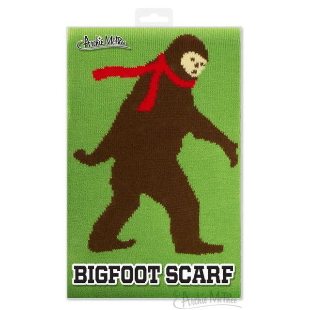 Bigfoot Scarf Folded in Packaging