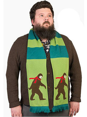 Bigfoot Scarf On Hipster