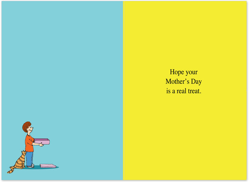 Catch The Mouse Mother's Day Card Inside