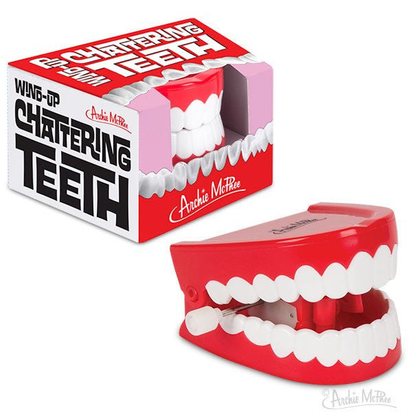 Wind Up Chattering Teeth With Box