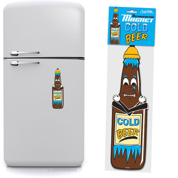 Cold Beer Jumbo Magnet - Sour Sentiments