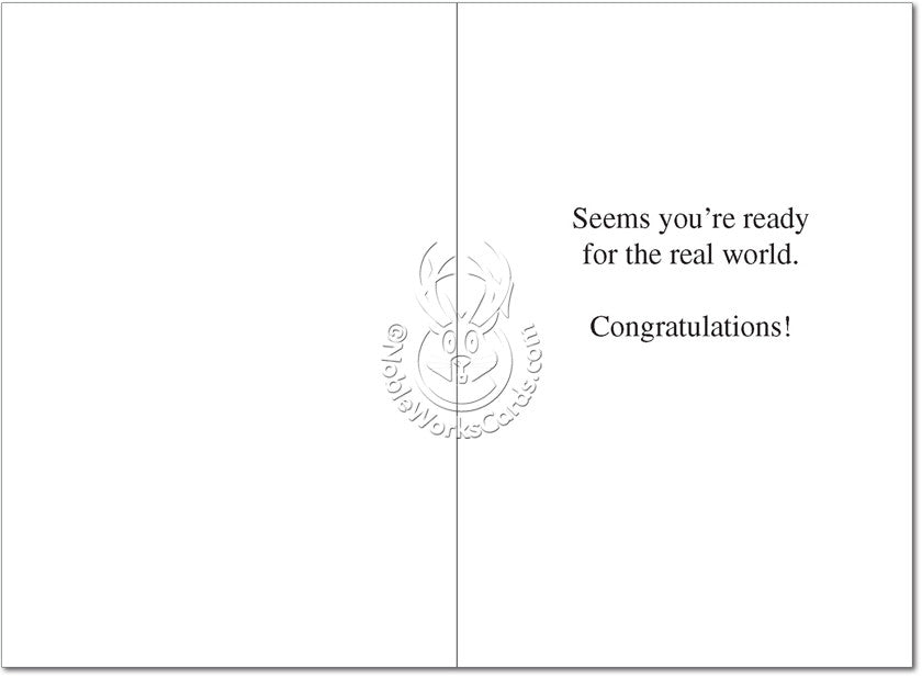 College Congratulations Card - Sour Sentiments   - 2