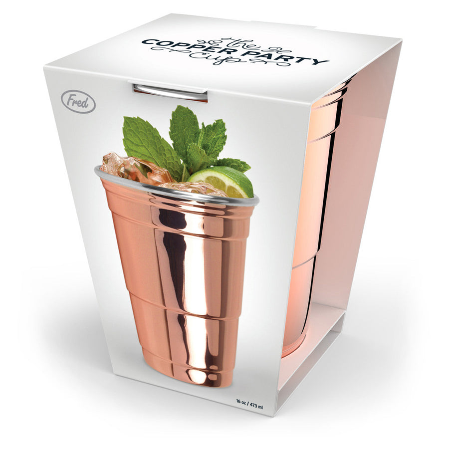 The Copper Party Cup In Box