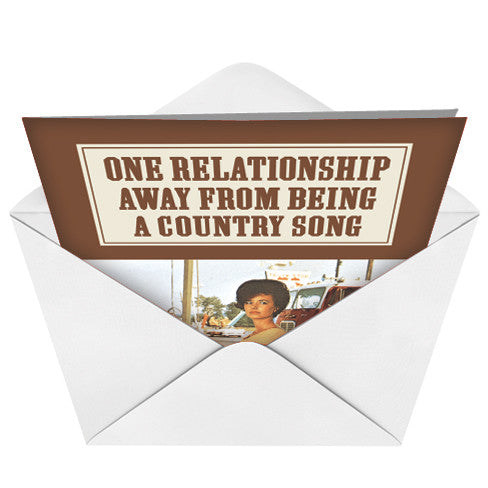 Country Song Card (Blank) - Sour Sentiments   - 2
