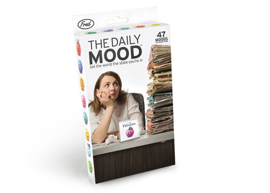 The Daily Mood Desk Flip Chart - Sour Sentiments   - 1
