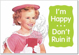 Don't Ruin It Card (Blank) - Sour Sentiments   - 1