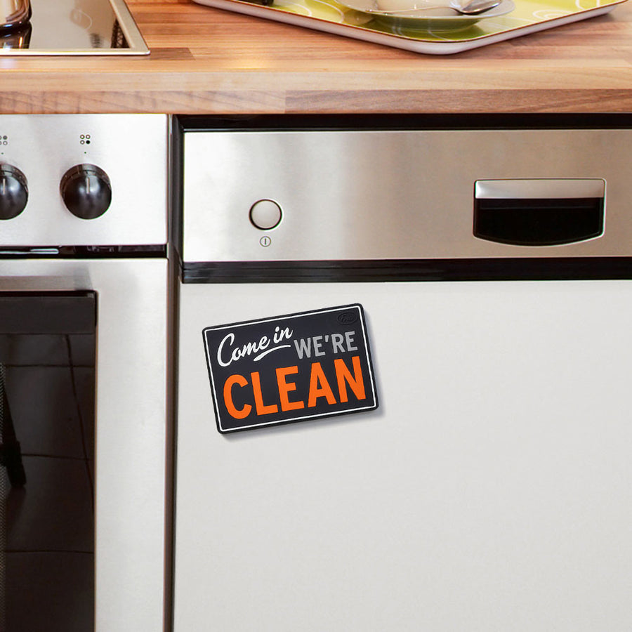 Flip Side Dishwasher Sign - On Dishwasher
