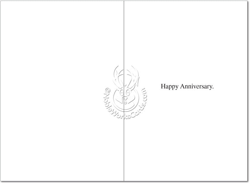 Fun Couple Happy Anniversary Card - Sour Sentiments   - 2