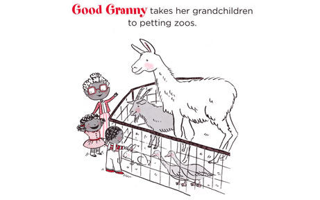 Good Granny Bad Granny  Book - At Petting Zoo
