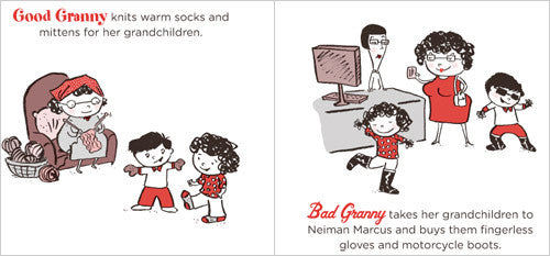 Good Granny Bad Granny  Book - Granny With Children