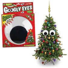 Giant Christmas Tree Googly Eyes - Sour Sentiments   - 1