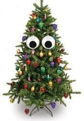 Giant Christmas Tree Googly Eyes - Sour Sentiments  - 2