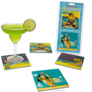 Hula Girl Coasters - Sour Sentiments