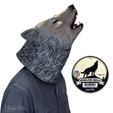 Howling Wolf Mask On Model