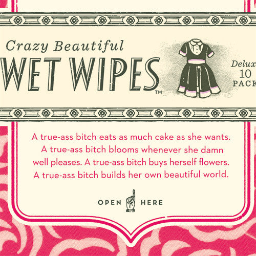 Lip Gloss Wet Wipes - Sour Sentiments   - 2