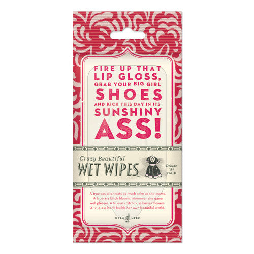 Lip Gloss Wet Wipes - Sour Sentiments   - 1