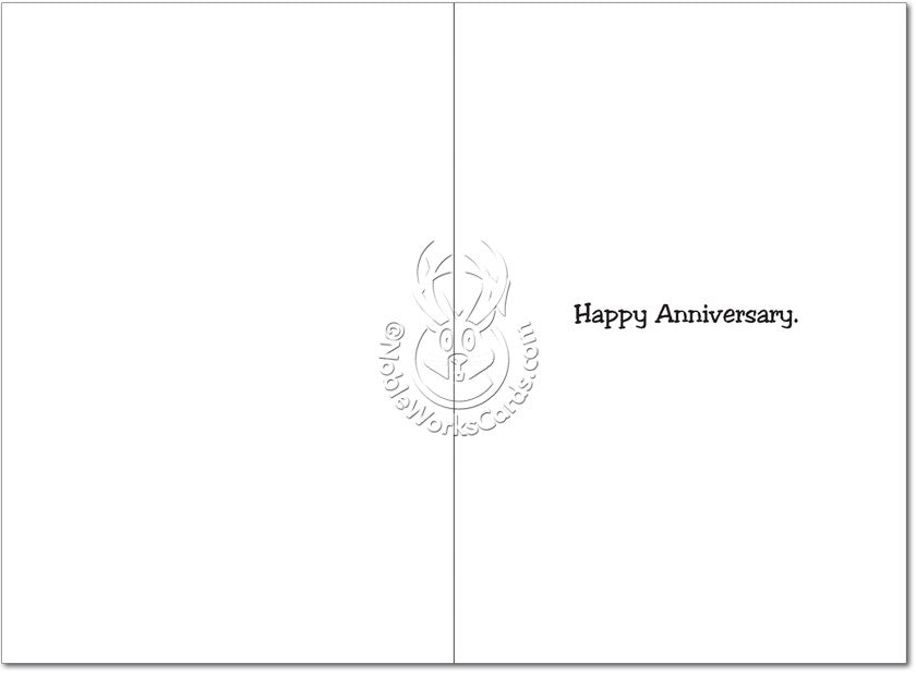 Married Cars Anniversary Card - Sour Sentiments   - 2