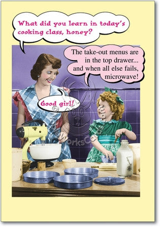 Microwave Mom Mother's Day Card