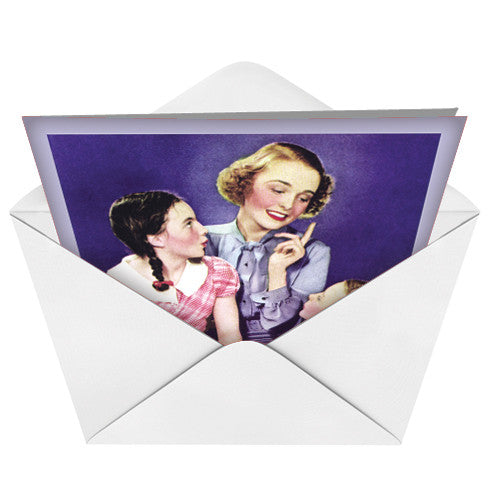 Mommy Knows  Card (Blank) - Sour Sentiments   - 2