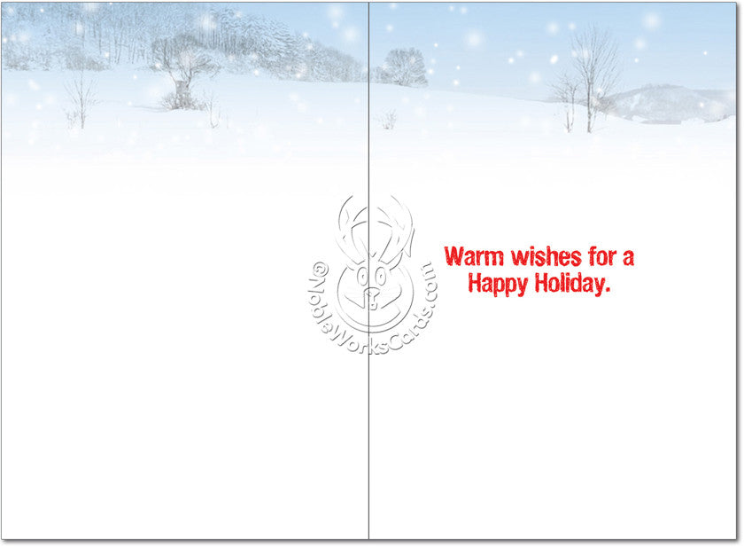 My Paws Are Frozen Christmas Card - Sour Sentiments   - 2