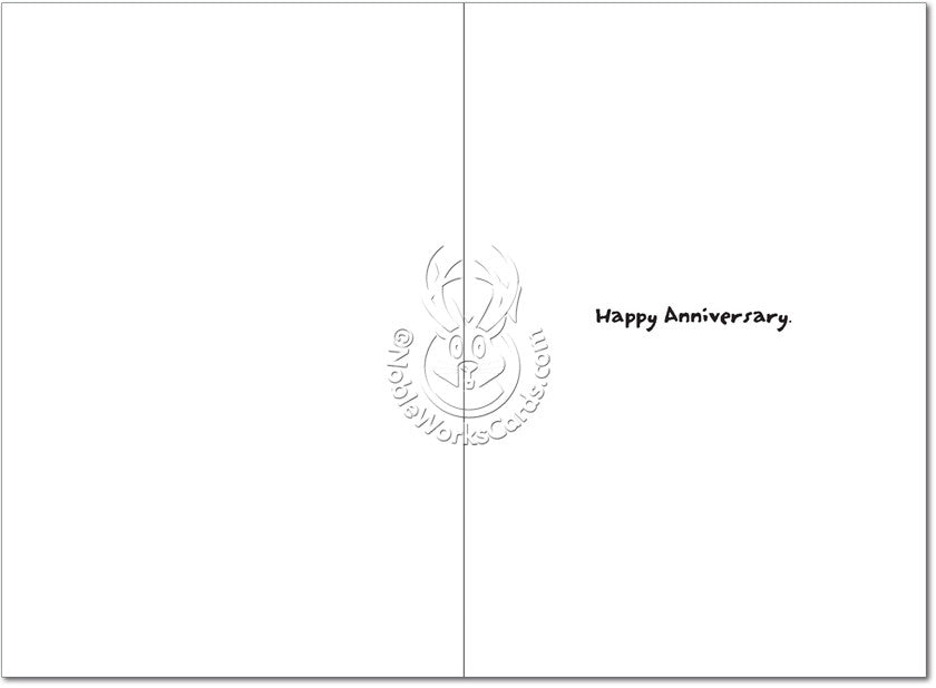 Nail Bed Anniversary Card - Sour Sentiments   - 2