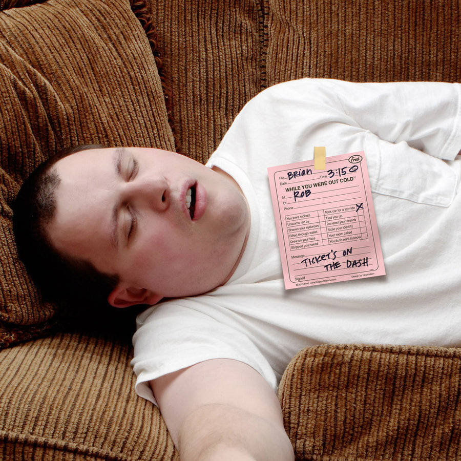 Out Cold Memo Pad