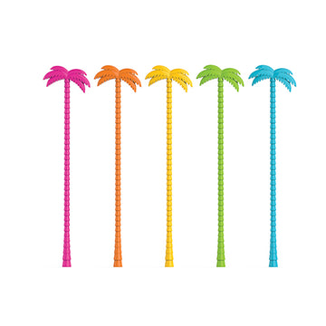 Palm Tree Stir Sticks Colors
