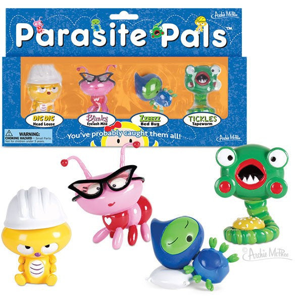 Parasite Pals With Box