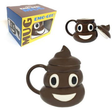 Poop Emoji Coffee Mug With Box