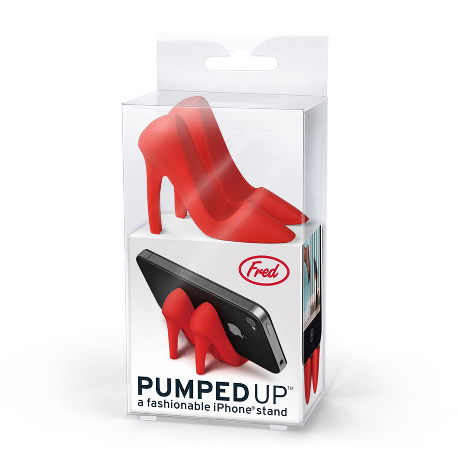 Pumped Up Smartphone Stand In Package