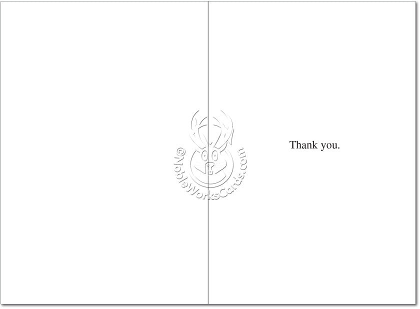 Thank All Those Thank You Card - Sour Sentiments   - 2