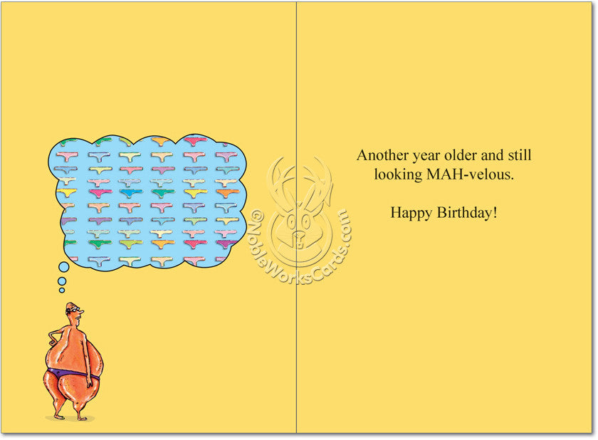 Thong World Birthday Card - Sour Sentiments   - 2