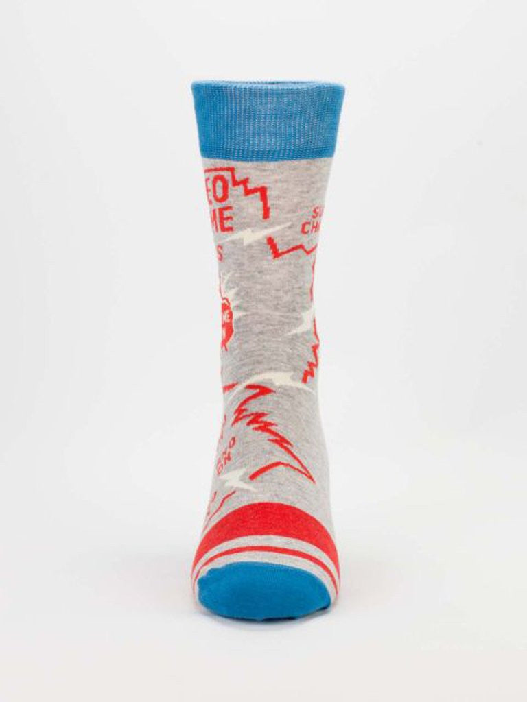 Video Game Socks Front